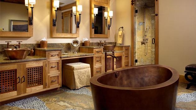 26 Impressive Ideas of Rustic Bathroom Vanity | Home Design Lov