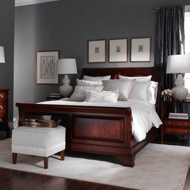 Natural Mattress | Dark wood bedroom furniture, Wood bedroom .