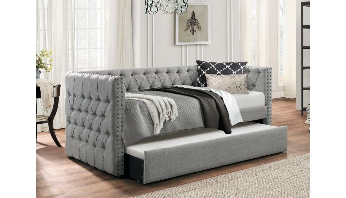 Roberta Day Bed With Trundle B