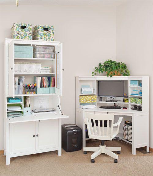 Project Declutter Part II: Overwhelming Workspaces | Home, Ikea .