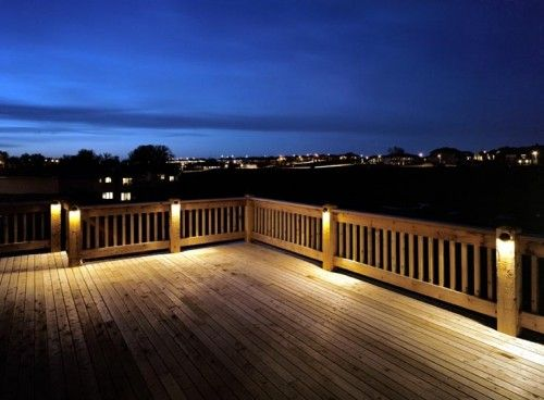 very cool deck lighting | Outdoor deck lighting, Cool deck .