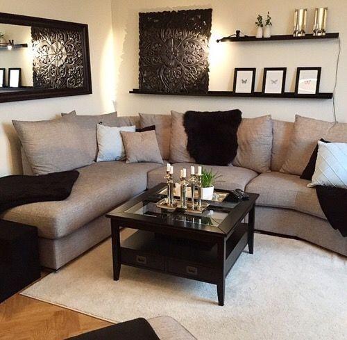 50+ Brilliant Living Room Decor Ideas | Family room decorating .
