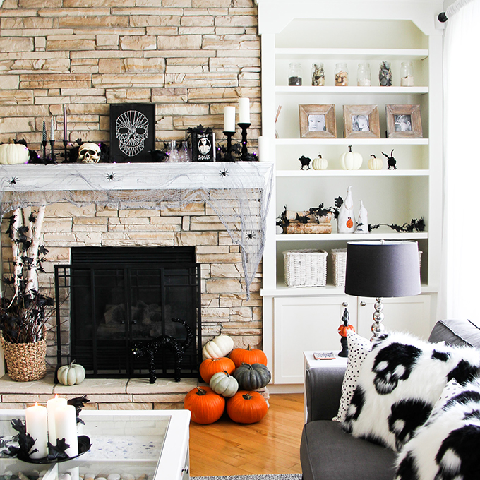 Halloween Decorating Ideas - A Pretty Life In The Subur