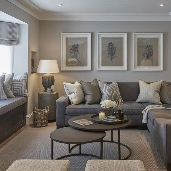 30 Elegant Living Room Colour Schemes | Elegant living room, Home .