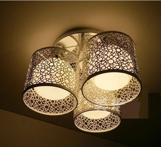 Fashion Modern ceiling light surface mounted ceiling Lamp Art .
