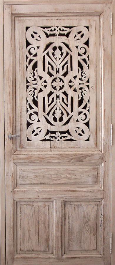 Fretted decorative door Interior doors . Portes Antiqu