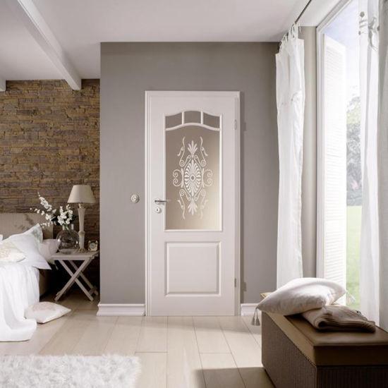 China High Quality Decorative Wooden Doors Interior Doors MDF .
