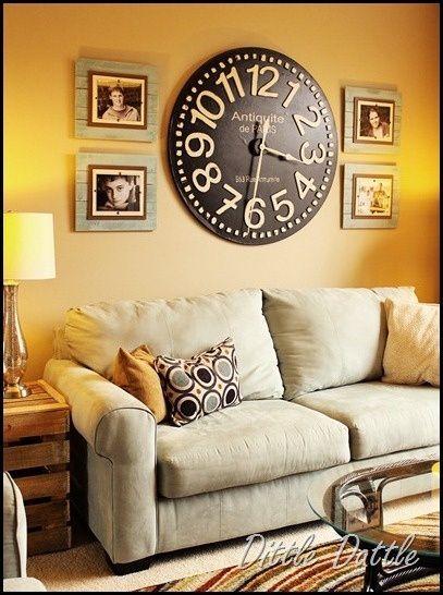 Decorative Wall Clocks For Living Room