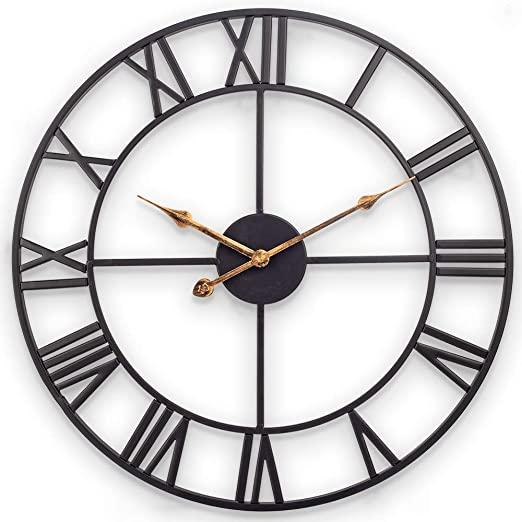 Amazon.com: Decor Wall Clock, European Retro Clock with Large .