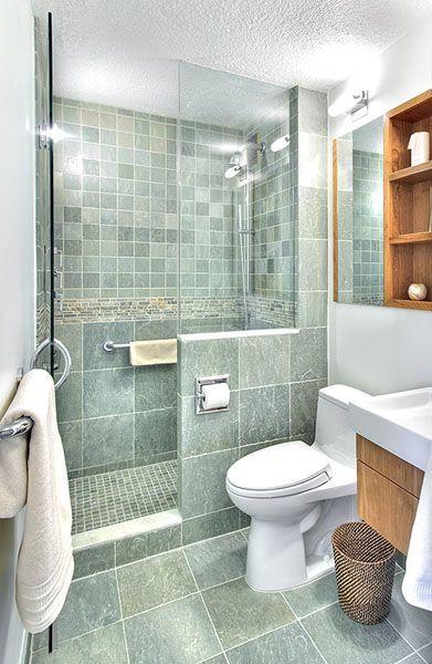 31 Small Bathroom Design Ideas To Get Inspired | Bathroom design .