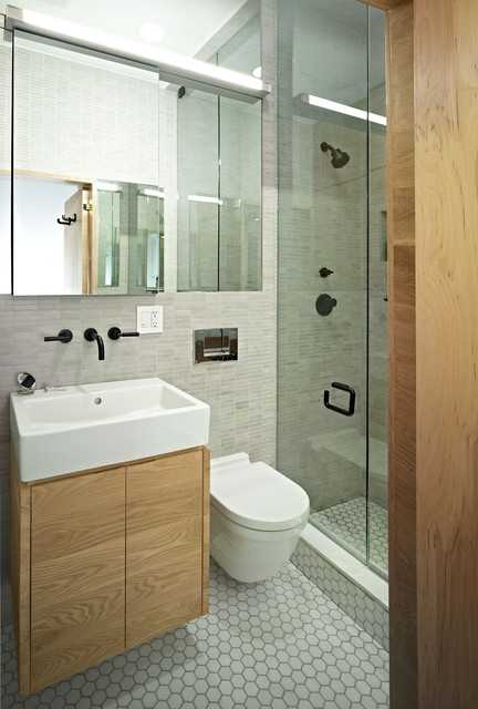 27 Small and Functional Bathroom Design Ide