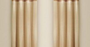 Plain Curtain | Lined curtains, Plain curtai