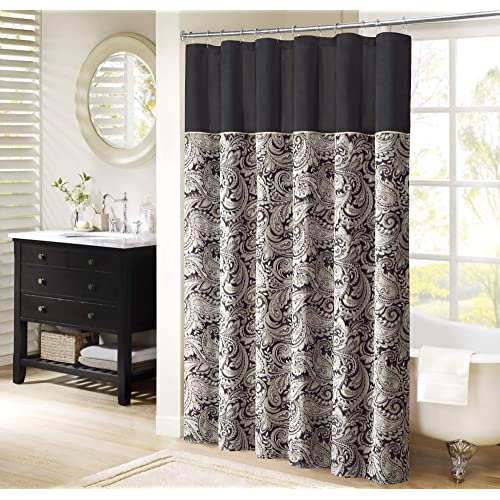 Designer Shower Curtains for Bathroom: Amazon.c