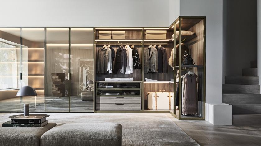 Designer Wardrobes Modern Contemporary Design | Molteni