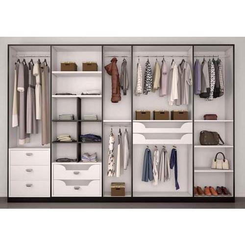 Mdf Modern Designer Wardrobe, Rs 1050 /square feet, KASHISH .