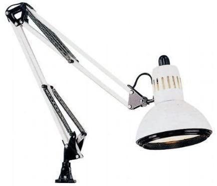 Swing Arm Desk Lamp Clamp Light Work Bench Computer Artist .