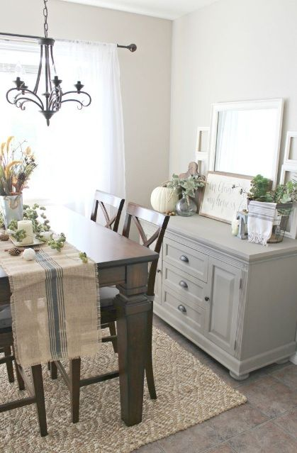 Decorating Dining Room Buffets And Sideboards | Dining room buffet .