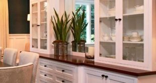 great craftsman built-in idea. | Dining room storage, Dining room .