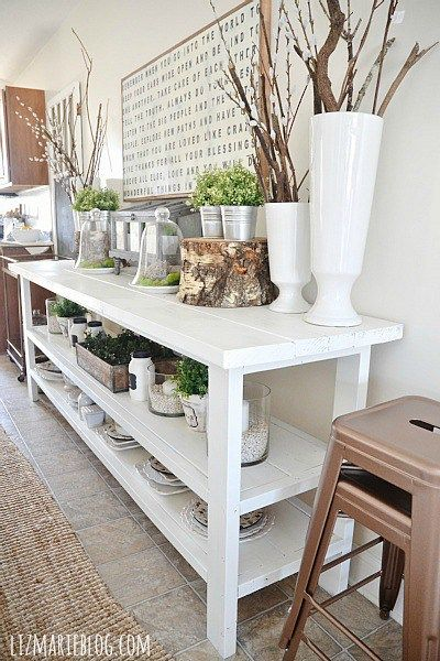 Spring Dining Room | Dining room buffet, Dining room storage, Ho