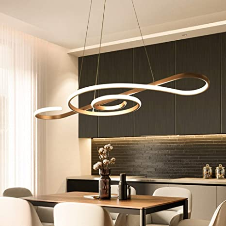 Modern LED Pendant Light Arcylic Chandeliers Dimmable 3000K~6500K .