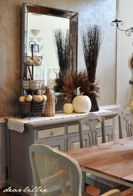 Dear Lillie (With images) | Fall dining room, Rustic dining room .