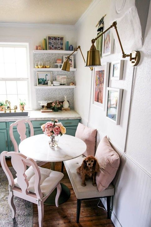 52 Simple Dining Room Design Ideas For Small Space - HOMYSTY