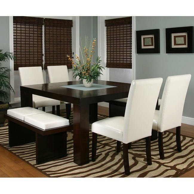 Kemper Square Dining Room Set (Ivory) Cramco, 1 Reviews .