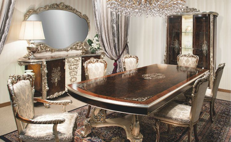 Italian Furniture Designers-Luxury Italian Style and Dining Room .