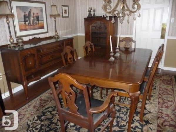 1920S Antique Dining Room Chairs Set Of 4 In Burlington Ontario .