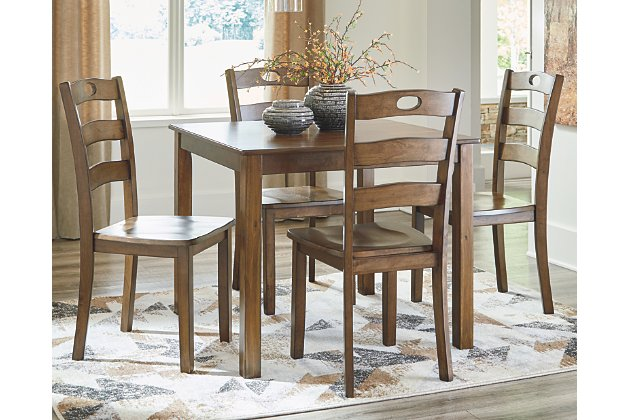 Hazelteen Dining Room Table and Chairs (Set of 5) | Ashley .
