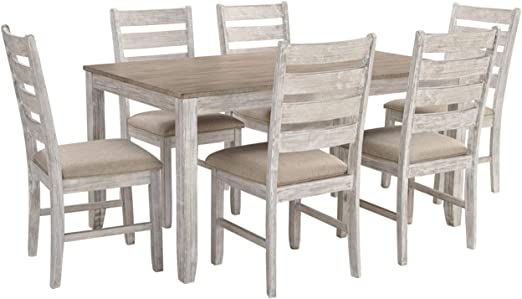 Amazon.com: Signature Design by Ashley - Skempton Dining Room .
