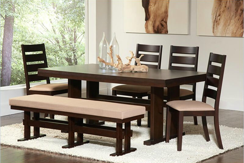Dining Benches | Design Custom Homes of Madis