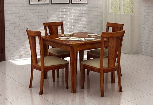 Pune in 2020 | 4 seater dining table, Modern dining chairs, Four .
