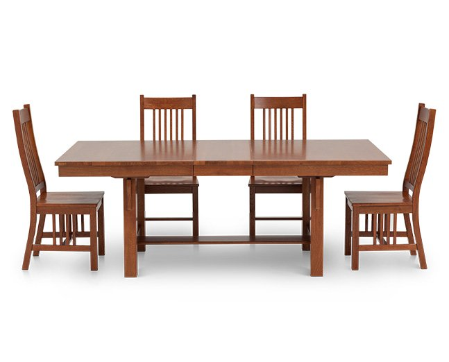 Mission II 5 Pc. Dining Room Set - Furniture R