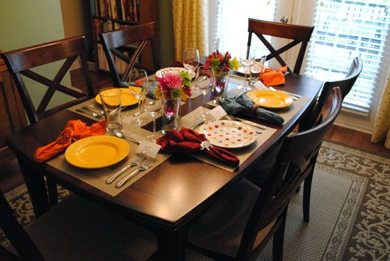Spring Dinner Party | Table, Dinner table, Counter height tab