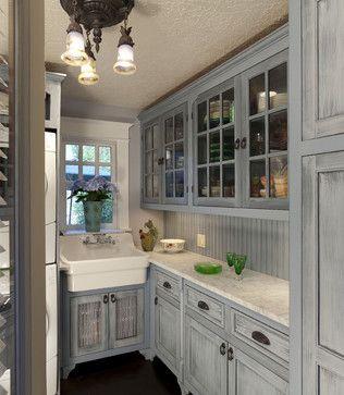Kitchen Photos Distressed Milk Paint Kitchen Cabinets Design .