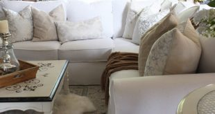 How to Make a Sectional Slipcover | Confessions of a Serial Do-it .