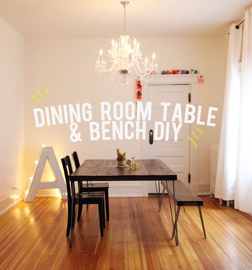 The Unhandy Man's Guide to Building a Dining Room Table & Bench .