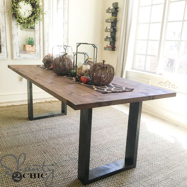 13 Free Dining Room Table Plans for Your Ho
