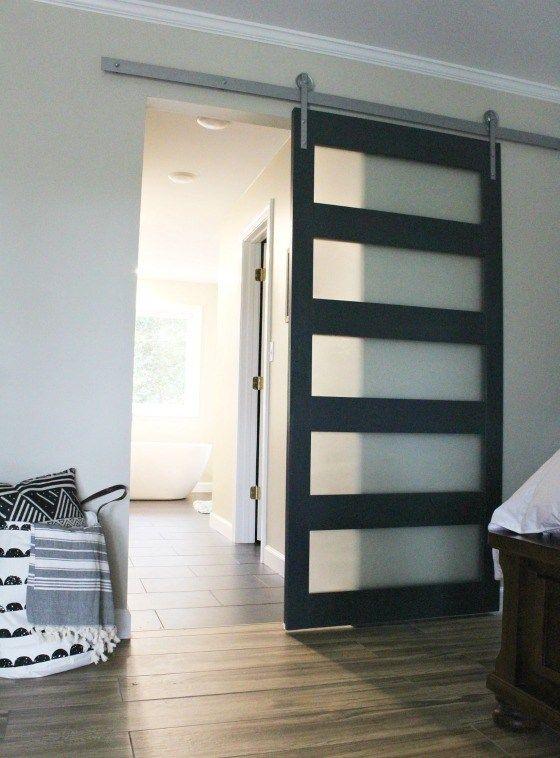 How to Build a DIY Modern Sliding Door | Modern sliding doors, Diy .