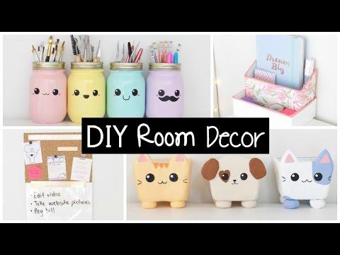 DIY Room Decor & Organization - EASY & INEXPENSIVE Ideas! - YouTu