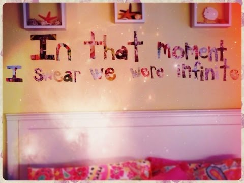 DIY: Room Decor Quote Cutout by Niki YouTube | 82 Quot