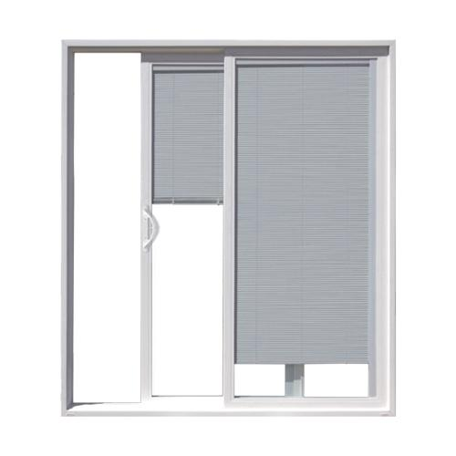JELD-WEN® Builders Series Vinyl Sliding Patio Door with Internal .