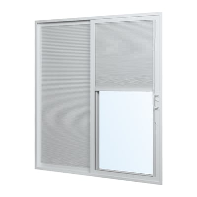ReliaBilt Reliabilt Blinds Between The Glass White Vinyl Left-Hand .