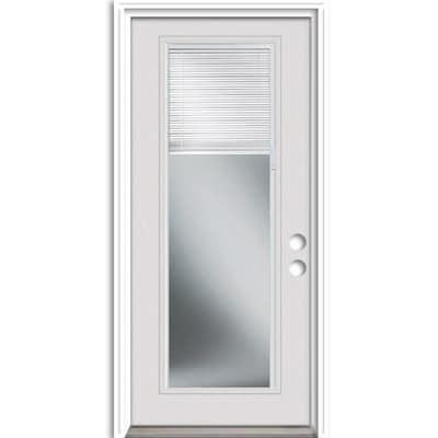 Therma-Tru Benchmark Doors Full Lite Blinds Between The Glass .