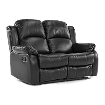 Amazon.com: BOWERY HILL Faux Leather Gilder Power Reclining .