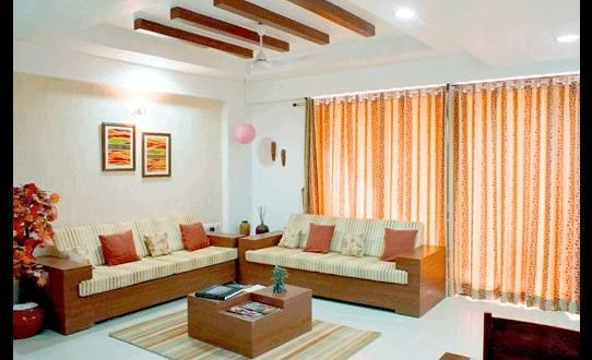 Indian Drawing Room Design | Wooden sofa designs, Drawing room .