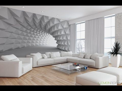 3D Wallpaper design. Latest Drawing Room Design. 12015579 House .