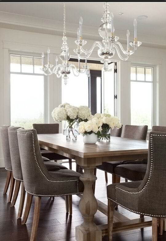 Classy Home Decor Ideas For Dining Room | Elegant dining room .