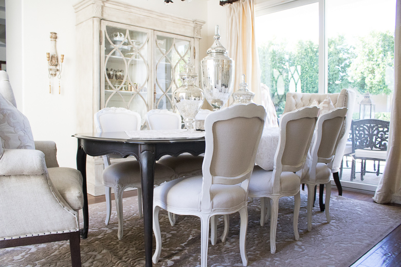 why you should use your dining room - elegant neutral dining room to